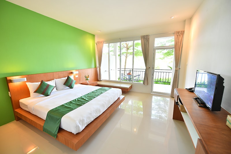 The Touch Green : Superior Room with Balcony