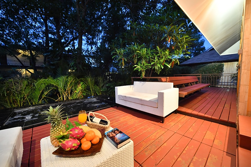 The Touch Green : One Bedroom Villa with Jacuzzi