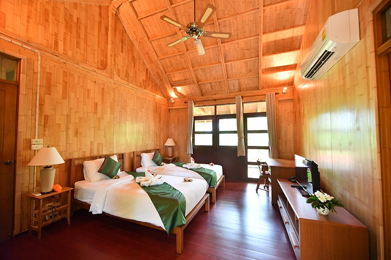 The Touch Green : Two Bedroom Villa with Jacuzzi